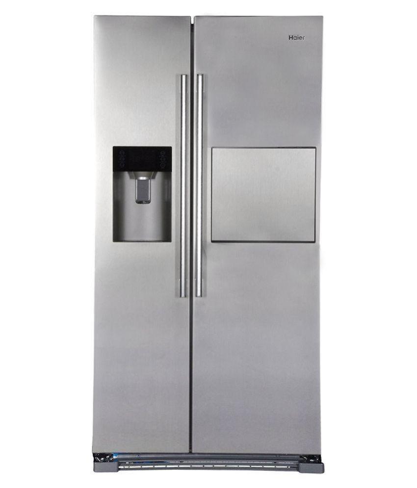 Haier 628 LTR HRF-628AF6 Double Door Refrigerator SILVER