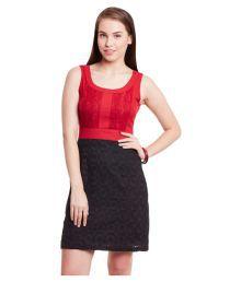 The Vanca Black Cotton Dresses - 672846788300