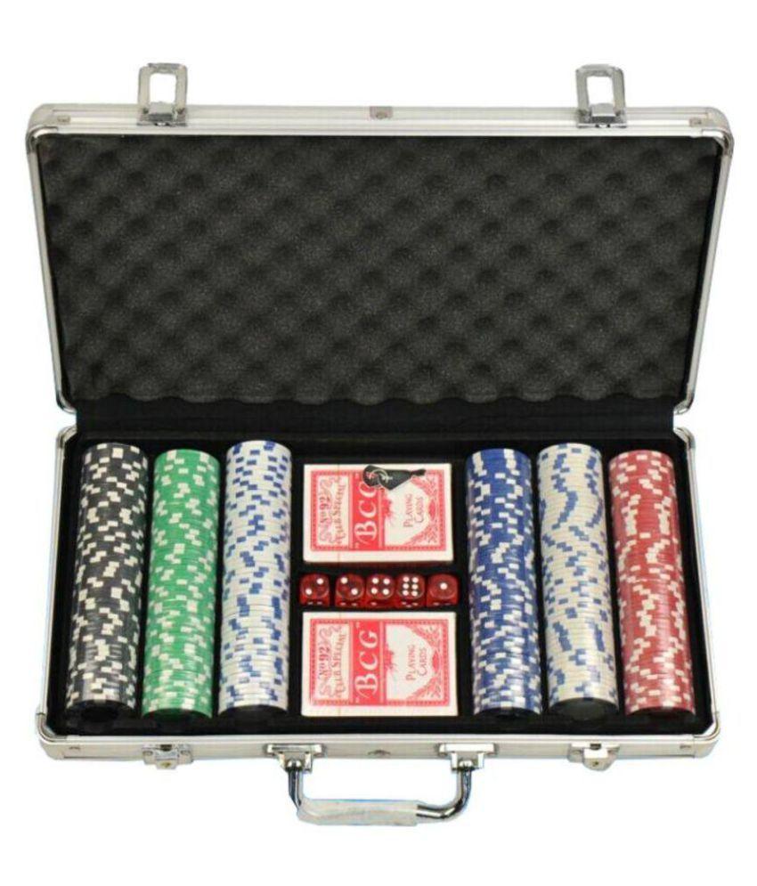 Asfit Multicolour Poker Set