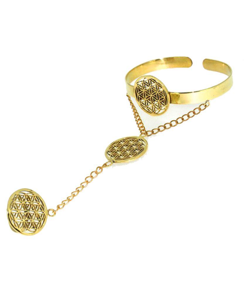 Casa De Plata Golden Bracelet