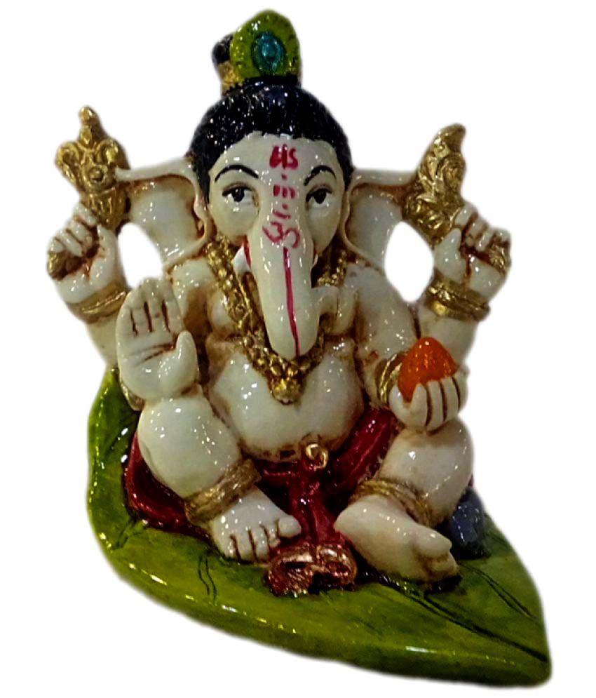 Madg Ganesha Polyresin Idol