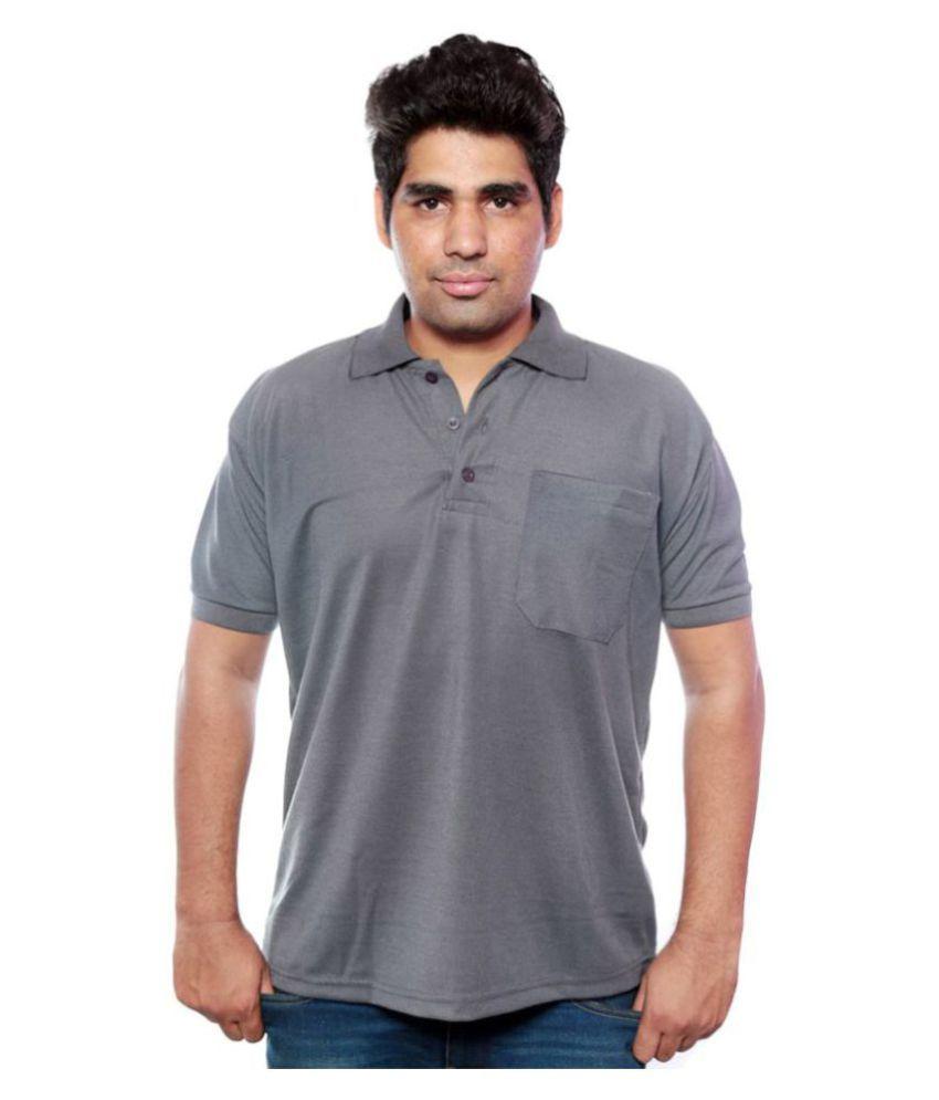 Jambo Grey Henley T-Shirt