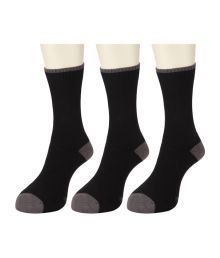 Wrangler Black Casual  High Ankle Length 3 Pair Socks