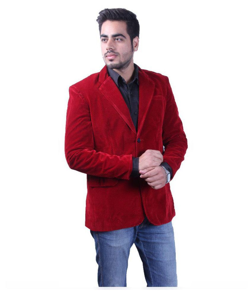 Intrend Red Checks festive 2 Piece Suits
