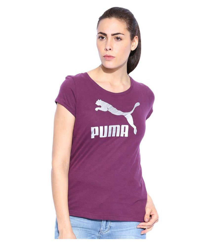 Puma Purple T-Shirt