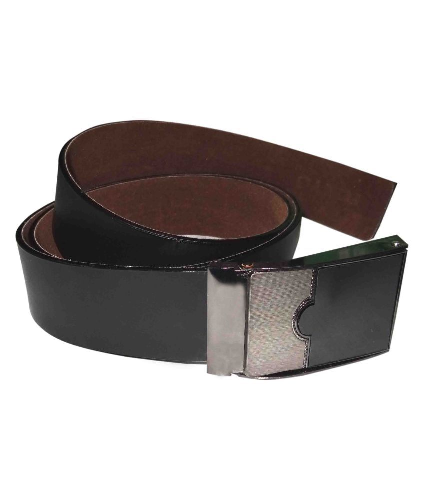 Riddhi Siddhi Marketing Black Leather Party Belts