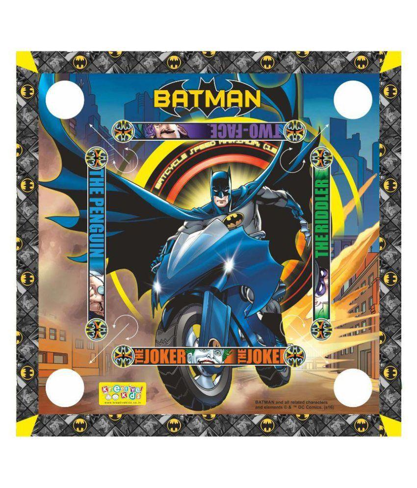 Batman Multicolor Carom Board Set