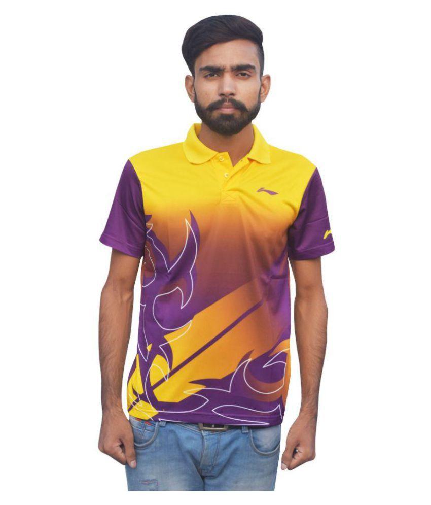 Li-Ning Multi Polyester Polo T-shirt Single Pack