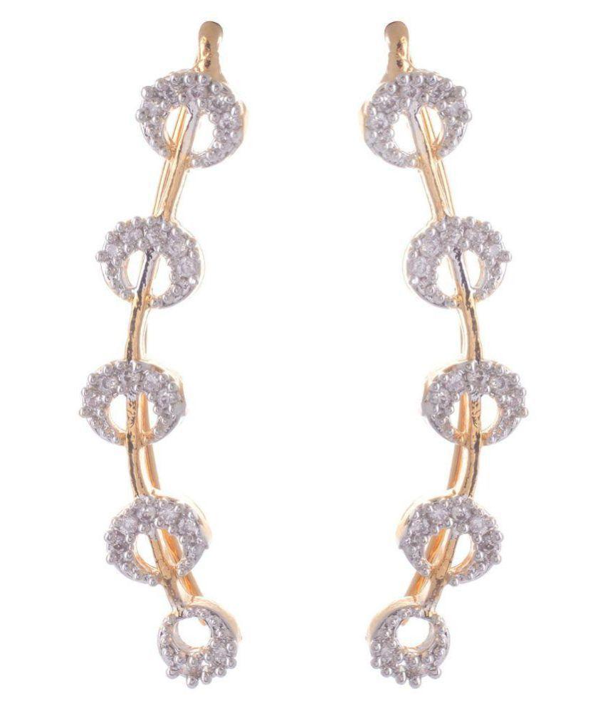 Naina Enterprises White Ear Cuffs
