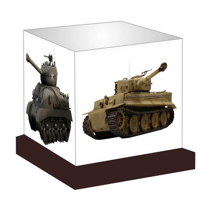 Advance Hotline Army Tanks Night Lamp Night Lamp Multi
