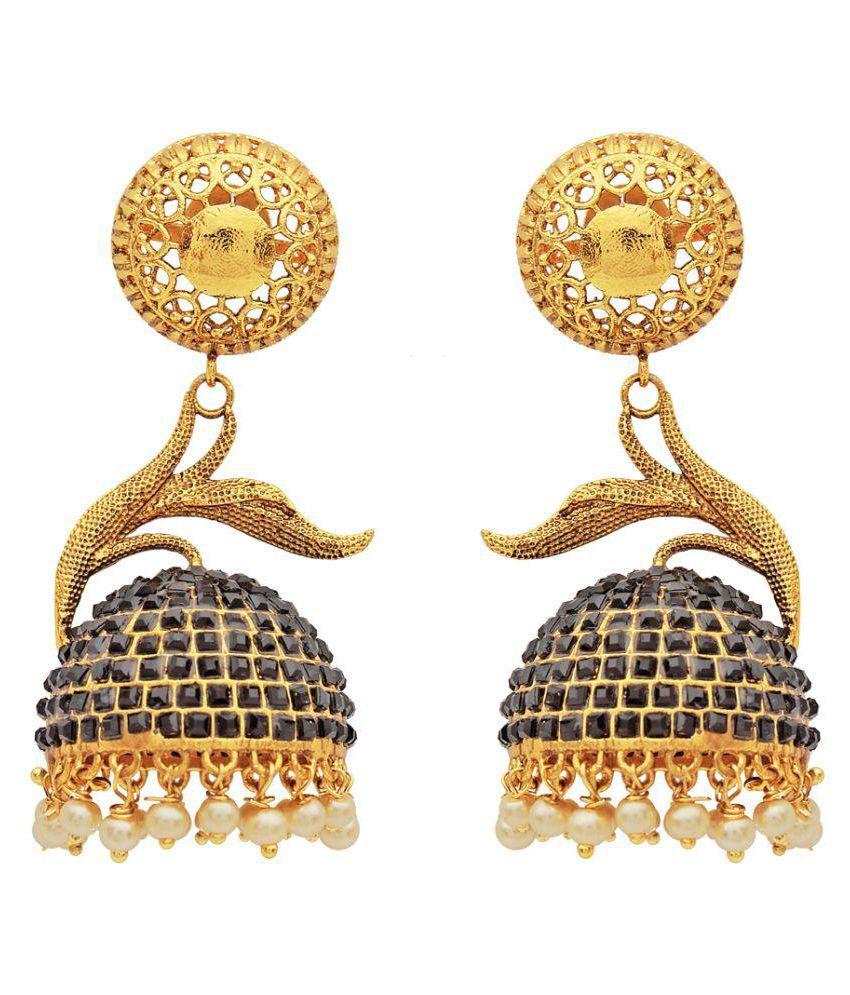 Zohar Multicolour Jhumki Earrings
