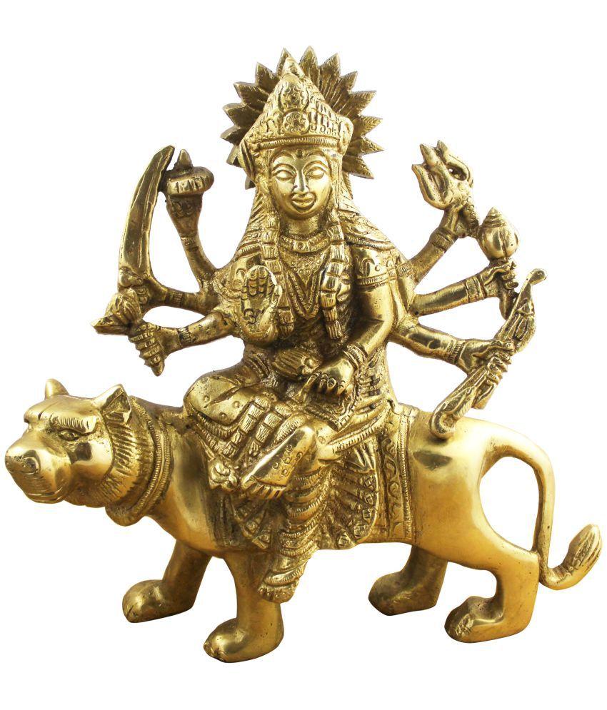 RoyaltyLane Durga Brass Idol
