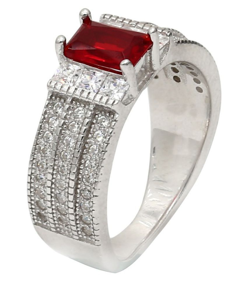 CS Jewellers 92.5 Silver Ring