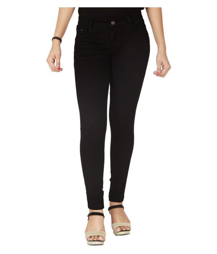 Flirt Nx Denim Lycra Jeans - Black