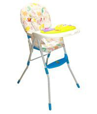 Imported Multicolour High Chair with Musical Tray