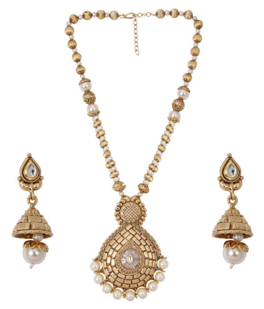 Ishin Gold Necklace Set