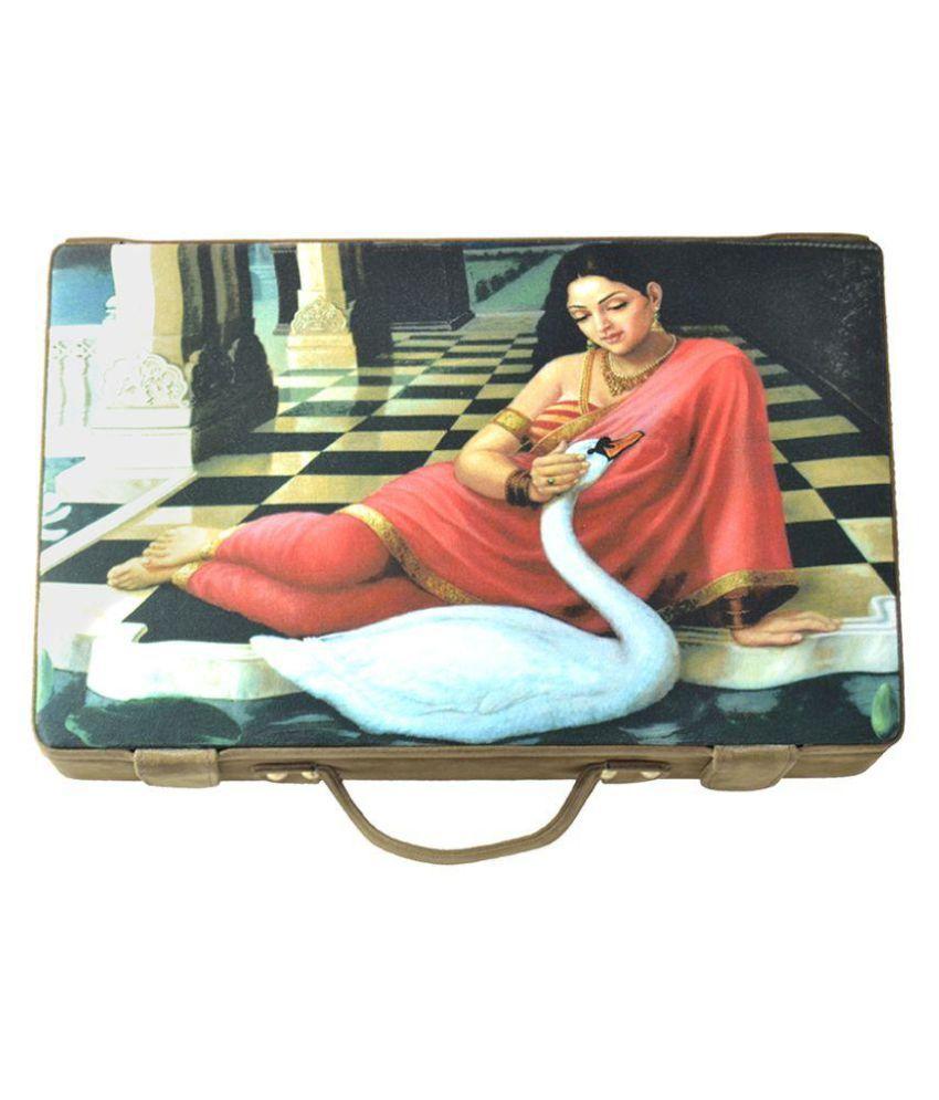 Like Digital Print Jewellery Box - Swan - Organised jewellery multi compartment