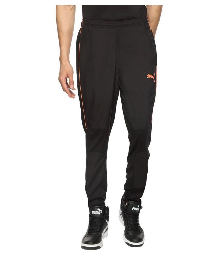 Puma Polyester Black Apparel Bottomwear S