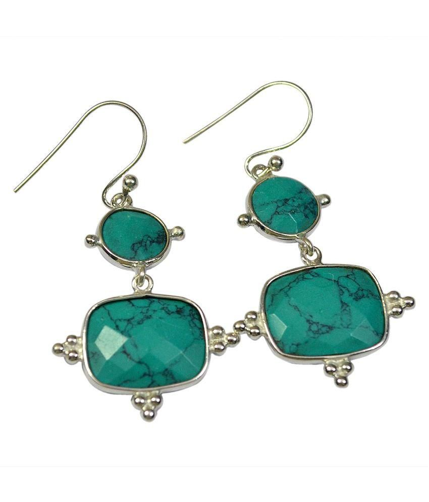 CCI 92.5 Silver Turquoise Hangings