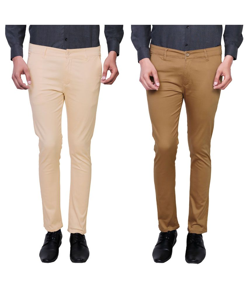 Variksh Multi Slim Flat Trouser