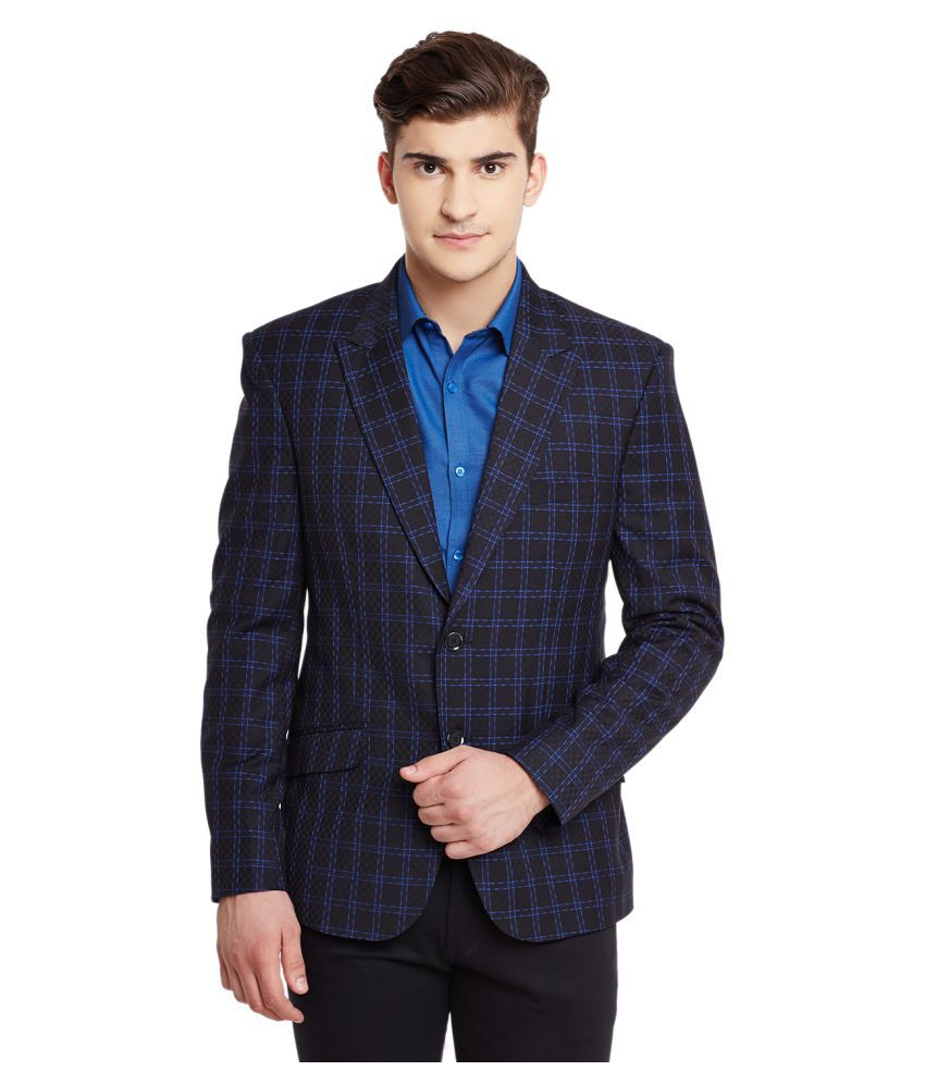 Canary London Multi Checks Casual Blazers
