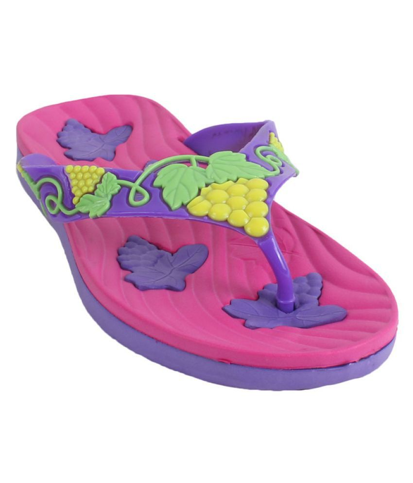 Foot Frick Multi Color Slippers