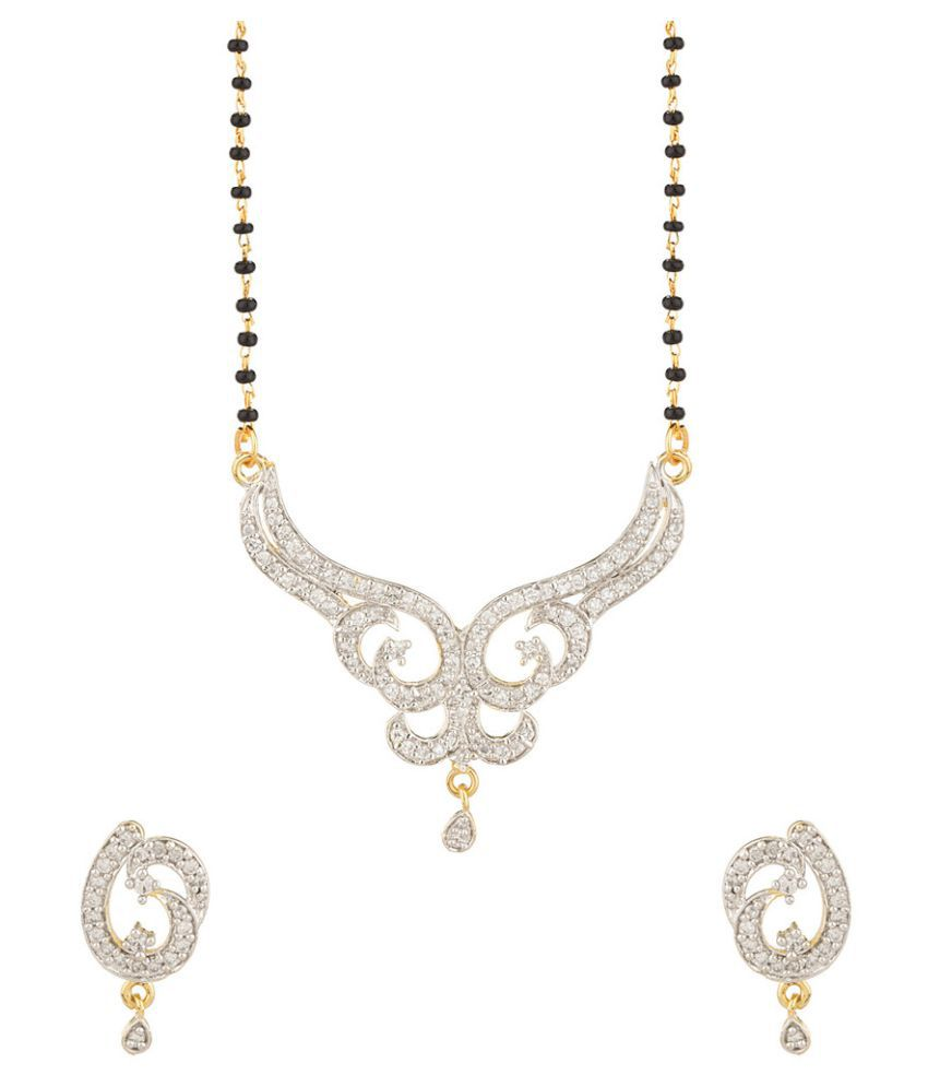 Navya Creations Multi Color Alloy Mangalsutra Set