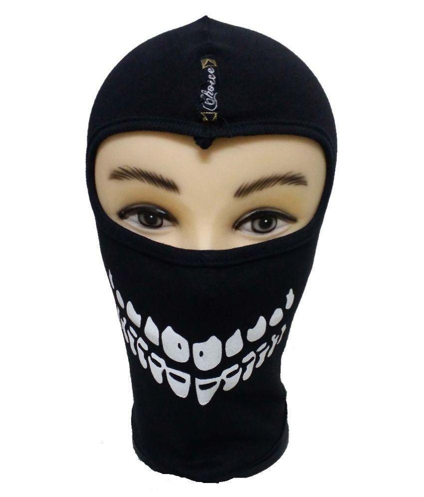 173a5a6ac45 Babji Black Cotton Face Mask  Buy Babji Black Cotton Face Mask Online at  Low Price in India on Snapdeal