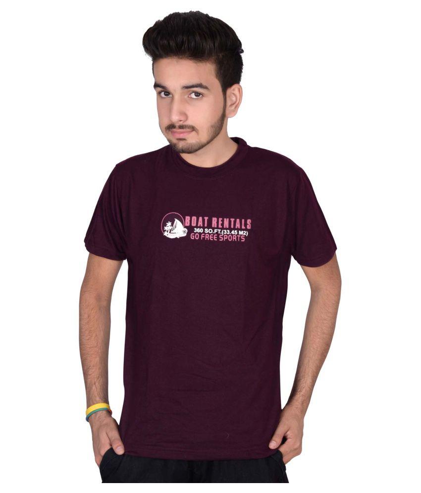 Magnus Purple Round T-Shirt