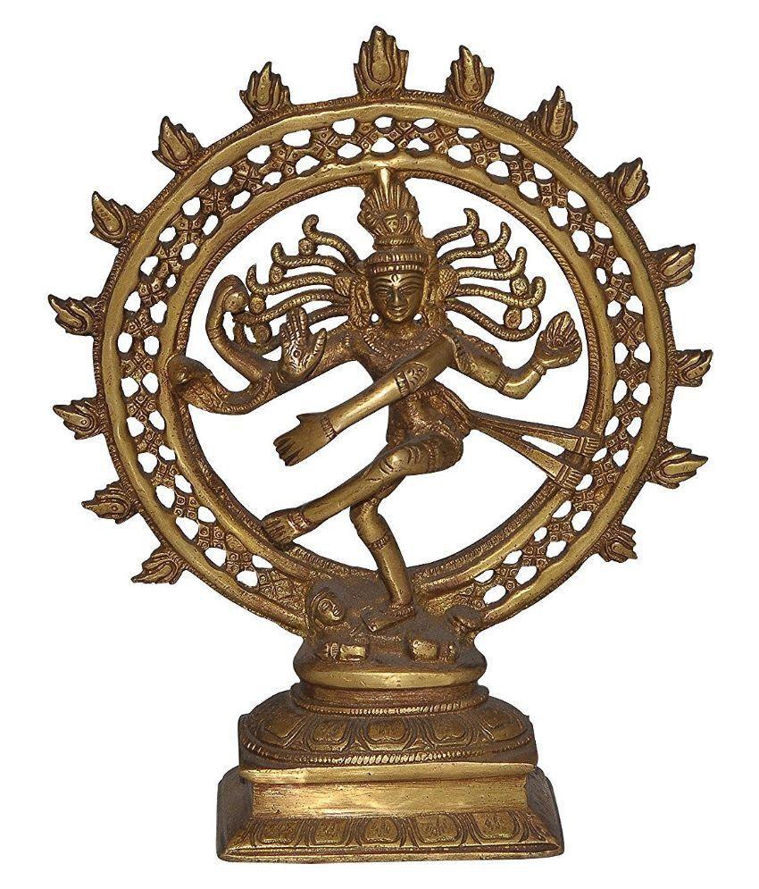 Dungri crafts Shiva Brass Idol