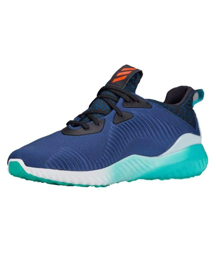 cf35967b5 Adidas ALPHABOUNCE Blue Running Shoes - Buy Adidas ALPHABOUNCE Blue Running  Shoes Online at Best Prices in India on Snapdeal