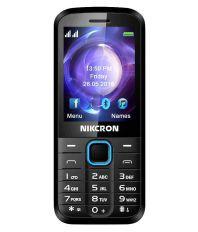 Nikcron N209 plus Below 256 MB Blue Black