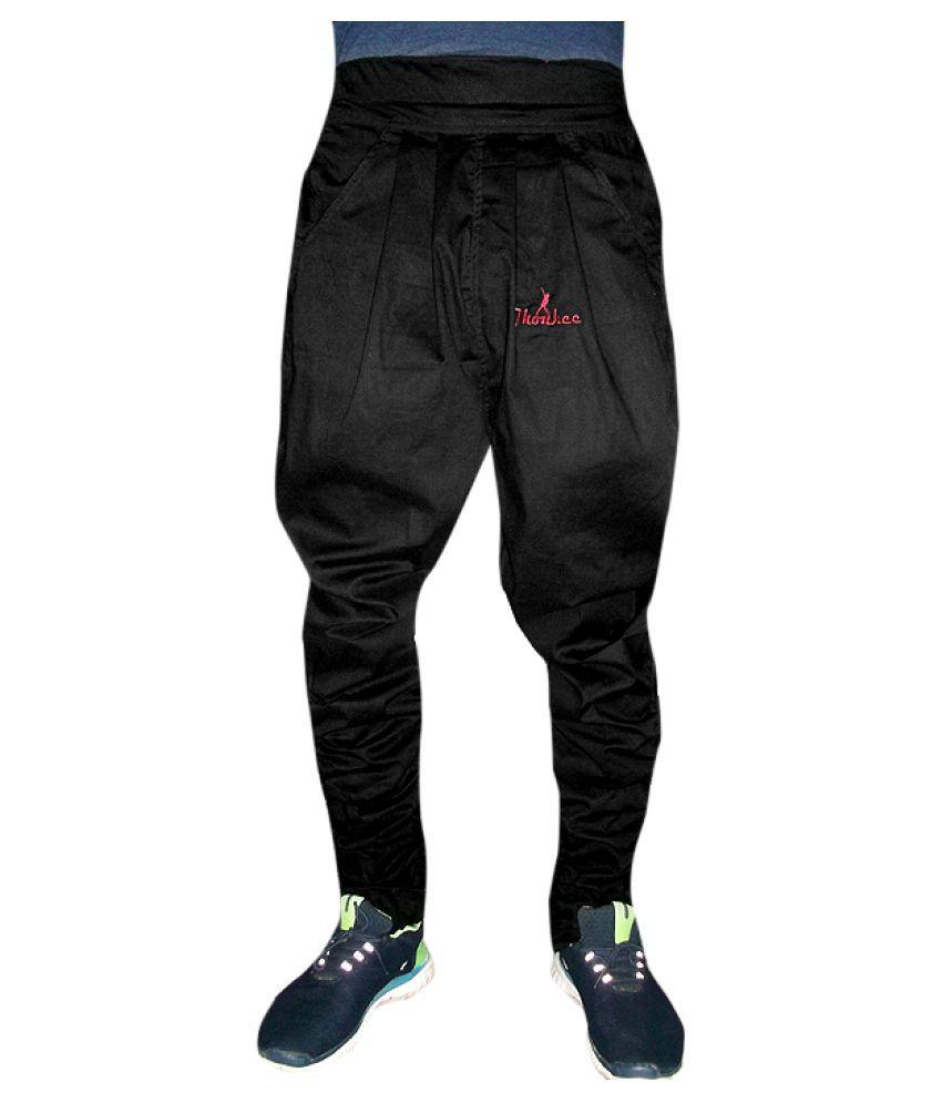 Jhonkee Black Relaxed Heram Pants