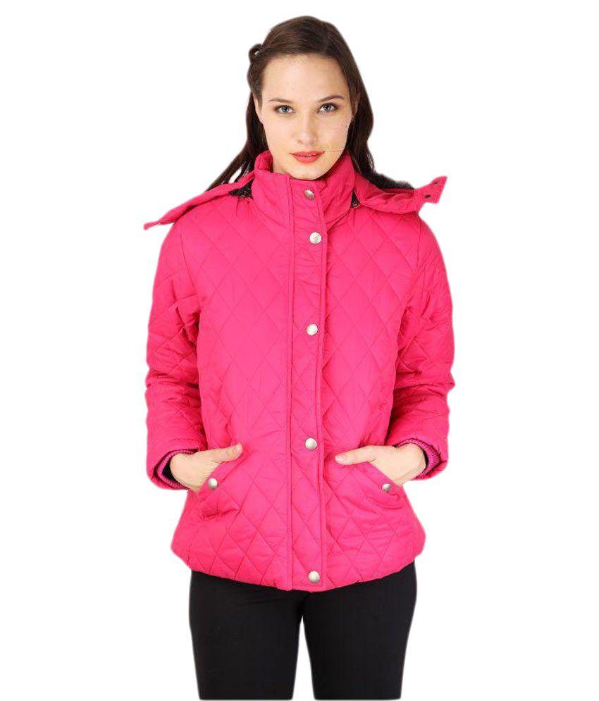 Tashi Delek Pink Bomber Jacket