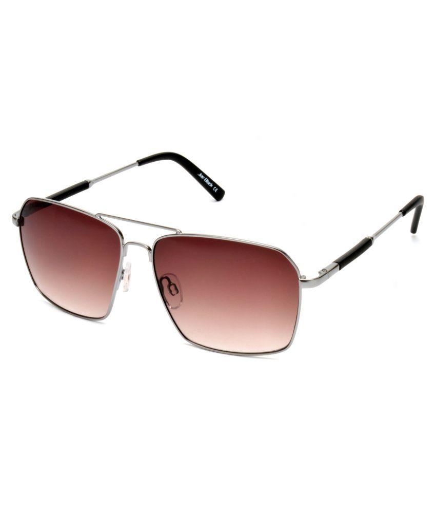 Joe Black - Brown Square Sunglasses ( JB-814-C2 )