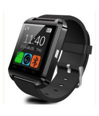 MDI U8 Black Bluetooth Smart Watch