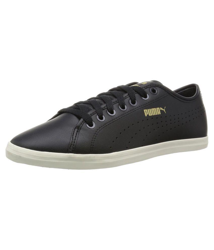 61453a6bc59d Puma Elsu v2 Perf SL Sneakers Black Casual Shoes - Buy Puma Elsu v2 ...