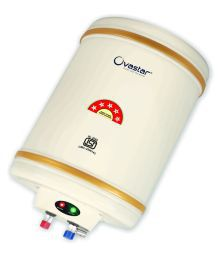 Ovastar 25 Ltr Ltr Electric Water Heater Oweg-3930 Storage Geysers Ivory