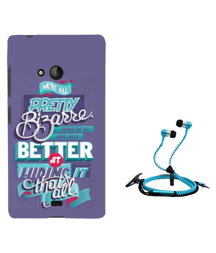 Nokia Lumia 540 Cover Combo by Style Crome