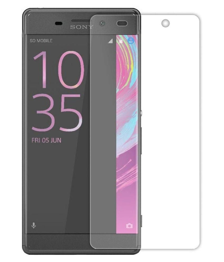 sony xperia xa tempered glass screen guard by afl mobile. Black Bedroom Furniture Sets. Home Design Ideas