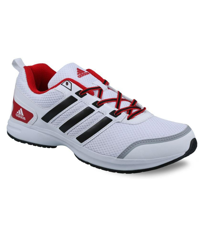 Adidas Ezar 10 White Running Shoes