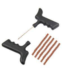 Takecare Multicolor Car Tubeless Tyre Puncture Repair Kit