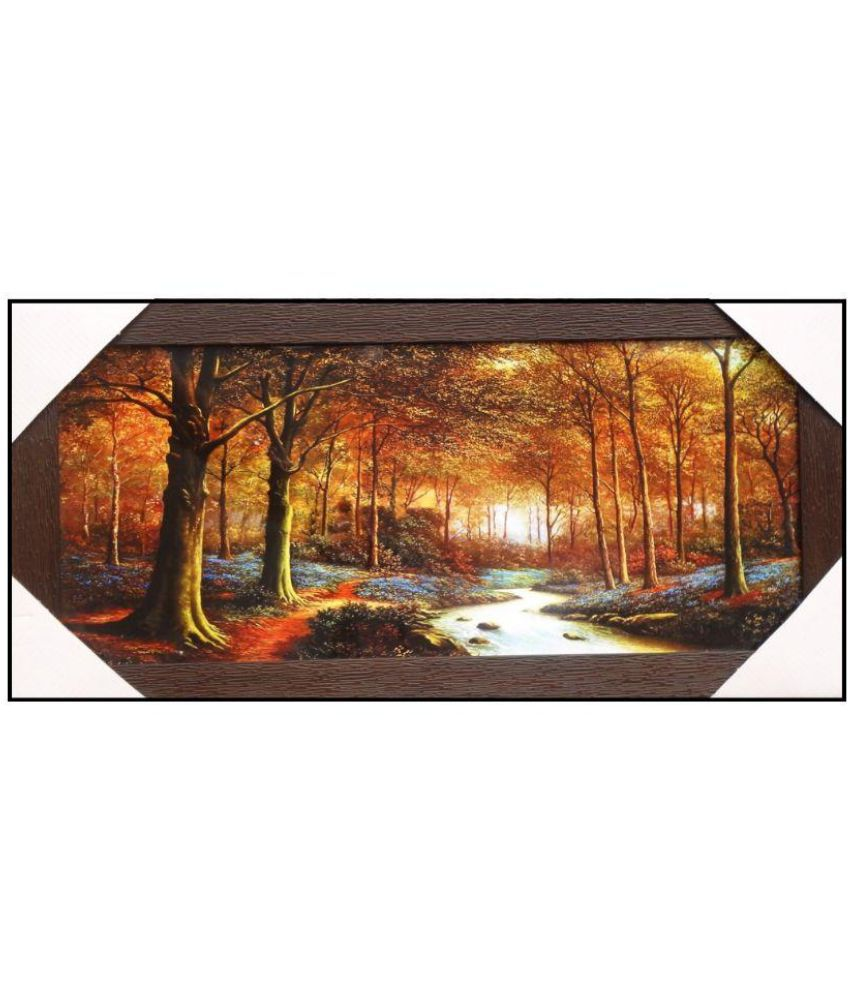 Amazing Collections Landscape Scenery Acrylic Art Prints With Frame Single Piece