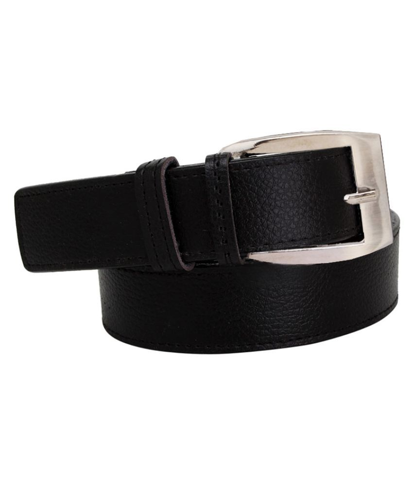 Elligator Black Casual Belt