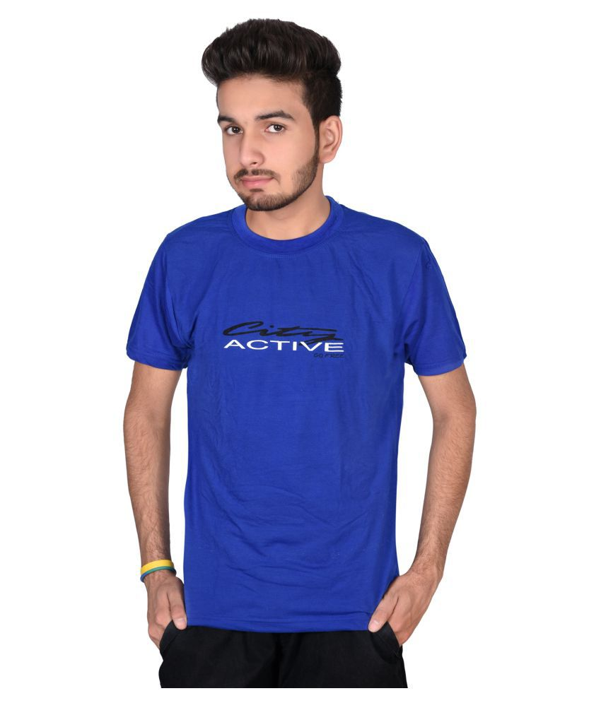 Decot Paradise Blue Round T-Shirt