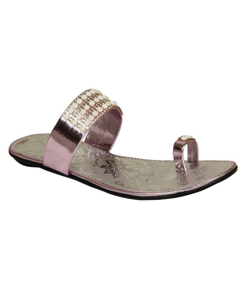 Sapyork Pink Flat Flats