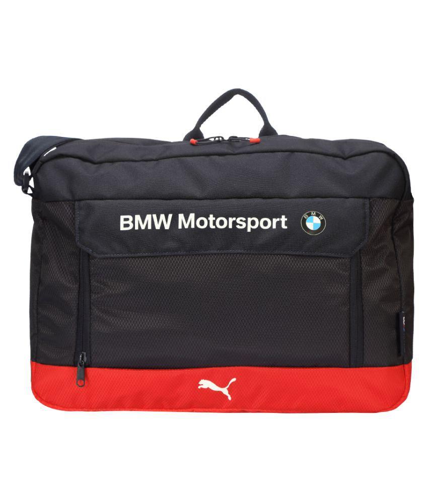 aebe3b68668 Puma BMW Motorsport Messenger Bag Black Polyester Casual Messenger Bag - Buy  Puma BMW Motorsport Messenger Bag Black Polyester Casual Messenger Bag  Online ...