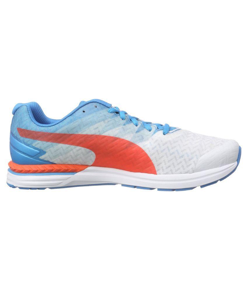 5340a7d2cd6 Puma Puma Speed 300 IGNITE White Running Shoes - Buy Puma Puma Speed ...