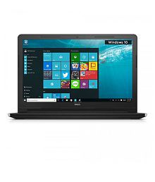 Dell Inspiron 3555 Notebook (AMD APU E2 6110- 4GB RAM- 500GB HDD- 39.62cm (15.6)-Windows 10) (Black)