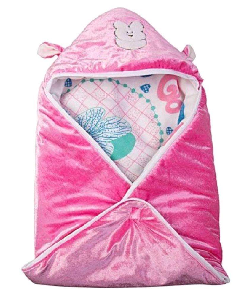 Anmol Pink Baby Wrap